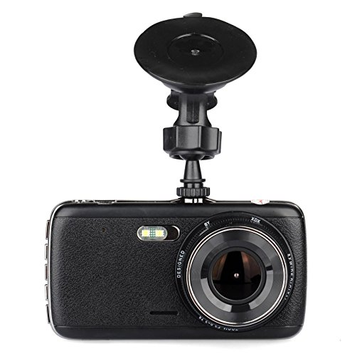 "Lian LifeStyle Car Dash Cam 4.0"" LCD FHD 1080p 170 Degree Wide Angle Dashboard Camera Recorder with AR-0330 Video Sensor, G-Sensor, WDR, Loop Recording+16GB SD LY770"