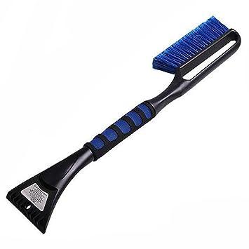 LPY-Mango largo multifuncional nieve pala nieve cepillo de hielo quitar herramienta (azul): Amazon.es: Deportes y aire libre