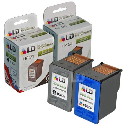 LD Products Remanufactured Ink Cartridge Replacement for HP C9531AN ( 2-Pack (Hp Inkjet 3180 Fax)
