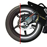 customTAYLOR33 (All Vehicles) Black Engineering Grade Reflective Copyrighted Safety Rim Tapes (Must select your rim size), 18