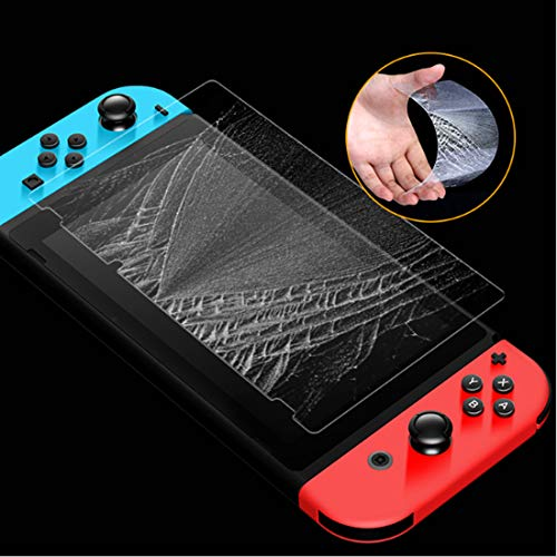 Switch Screen Protector, Timorn Switch Protective Screen, Anti-Scratch Tempered Glass Screen Protector for for switch (2 pack)