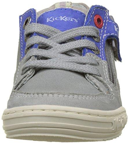 Kickers Jadore, Zapatillas Para Niños Gris (Gris Bleu)