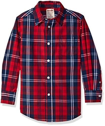 Plaid Boys Shirt - 6