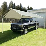 Quictent 10'X20' Heavy Duty Carport Car Canopy