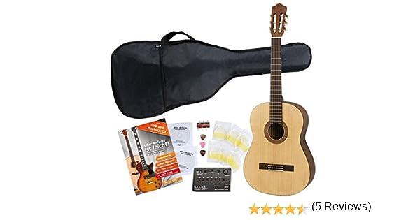 Yamaha C40 M Guitarra clásica de estudio (Incluidos funda ...