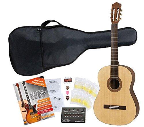 Yamaha C40M Konzertgitarre SET inkl. Zubehörset + Tuner C40M Set 2