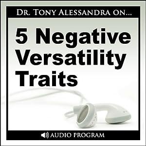 5 Negative Versatility Traits Speech