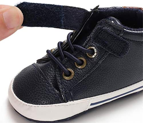 51yRBs5MSXL. AC - LAFEGEN Baby Boys Girls Oxford Dress Shoes Non Slip Lace Up Sneaker PU Leather Moccasins Newborn Infant Toddler Loafers First Walker Crib Shoes 3-18 Months