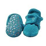 Zutano Cozie Fleece Baby Booties with Grippers 24M