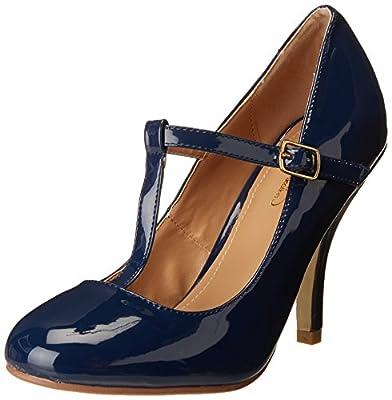Brinley Co Women's Nelson 03 Dress Pump Regular & Wide Sizes