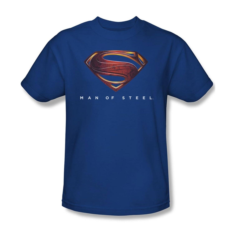 Man Of Steel - Mens Mos New Logo T-Shirt