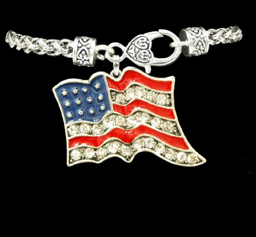 united states flag bracelet - 6