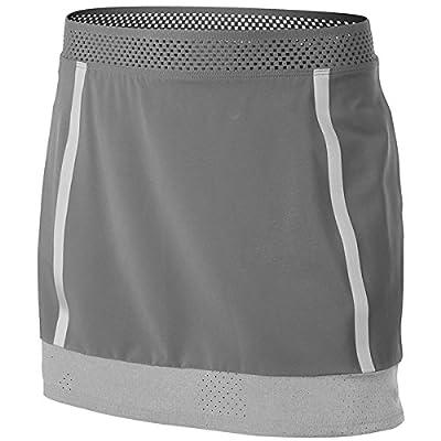 New Nike Girls Maria Open Skirt Gray 547360-065