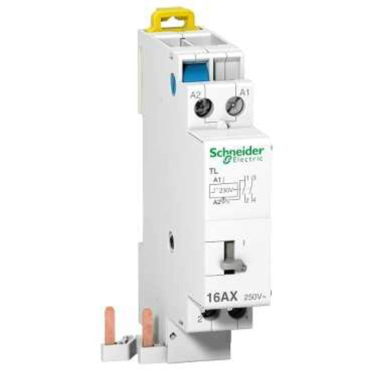 schneider schneider electric a9c15507 16a 230v 2p t/él/érupteur
