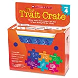 Scholastic - Trait Crate Grade 4 Seven Books Posters Folders Transparencies Stickers ''Product Category: Classroom Teaching & Learning Materials/Teacher's Aids & Manuals''