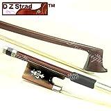 D Z Strad N208 Braided Carbon Fiber Violin Bow 1/2 with Fluer-de-lys Frog