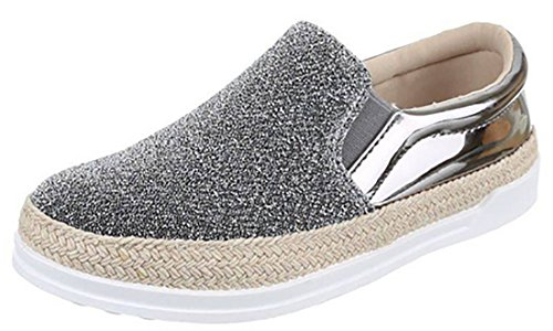 scarpe lurex basse lurex vernice scarpe donna scarpe Grigio Scarpe scarpe vernice 4x7FHt4zn