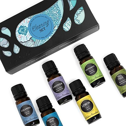 Edens Garden Cleaning Essential Oil Set, Best 100% Pure Aromatherapy Starter Kit (For Diffuser & Therapeutic Use), 10 ml