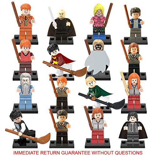 Inspired Block Set by Generic / Minifigures Building Blocks Toys 16 figures + Weapons