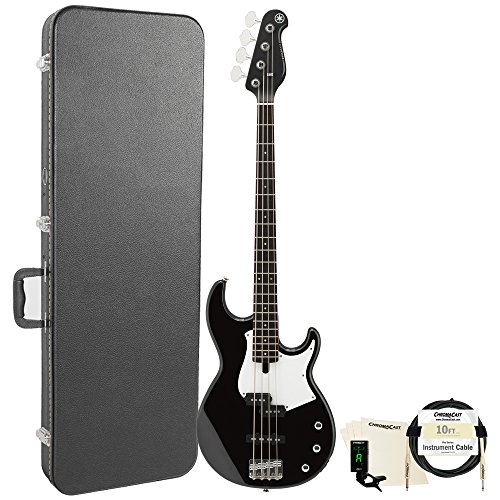 Yamaha BB234 BB-Series 4-String Bass Guitar with Hard Case and Accessories, Black from Yamaha