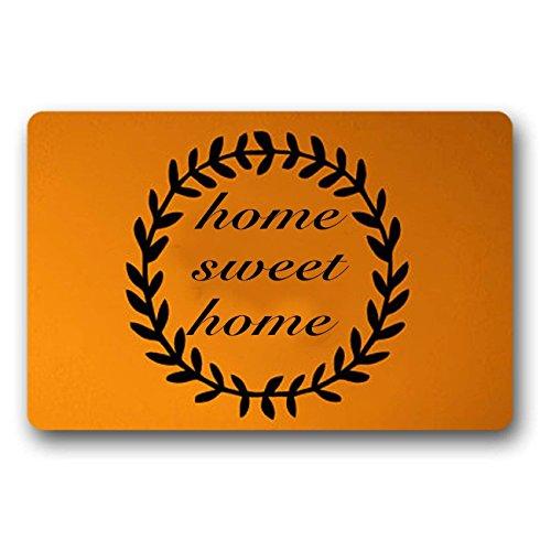 JXSED Home Sweet Home Door Mat Nonslip Entry Doormat for Patio Front Door Large 16x24 -