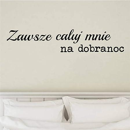 Pologne Romantique Amour Vinyle Stickers Muraux Chambre
