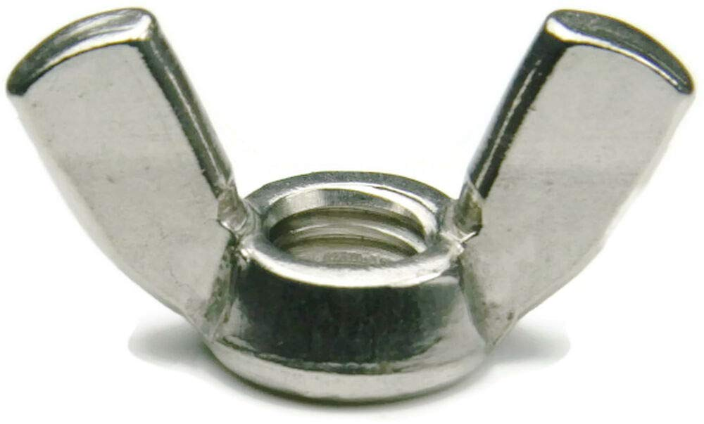 Qty 250 Stainless Steel Wing Nut UNC #10-24, by IM Vera