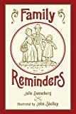 Family Reminders by Julie Danneberg front cover