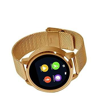 Fitness tracker reloj Inteligente,Recordatorio sedentario,Reloj Inteligente Diseño elegante,Construido en micrófono