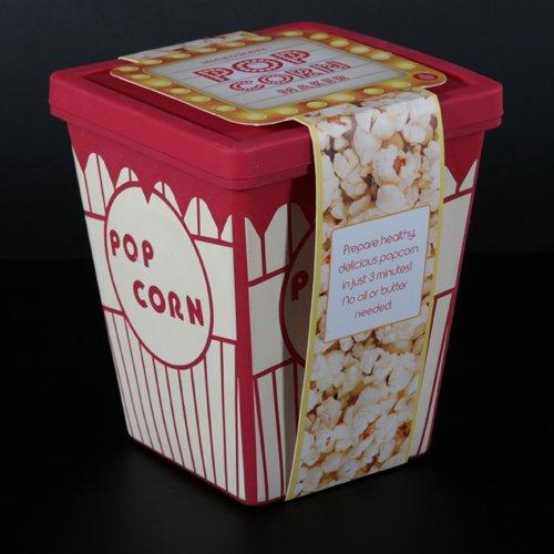Silicona Popcorn Maker para el microondas cine Feeling para Hogar ...