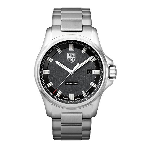 Luminox 1830 Series Dress Field Stainless Steel Mens Watch