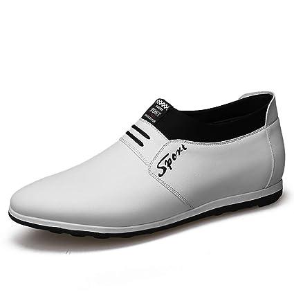 Starttwin - Zapatos de Vestir para Hombre con Mocasines Transpirables para otoño e Invierno