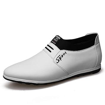 Starttwin - Zapatos de Vestir para Hombre con Mocasines ...