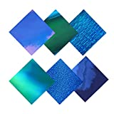 Holographic Opal Blue & Green Adhesive Craft Vinyl