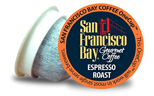 San Francisco Bay OneCup, Espresso Roast, 120 Count- Single Serve Coffee, Compatible with Keurig K-cup Brewers