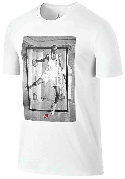 9a2b9bce68165c Amazon.com  NIKE Air Jordan Retro 4 Hangtime Men s T-Shirt  Sports    Outdoors