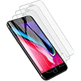 [3 PACK] LK iPhone 7 Plus/8 Plus Screen Protector, [Tempered Glass] with Lifetime Replacement Warranty
