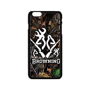 Browning Pattern Plastic Case For Iphone 6