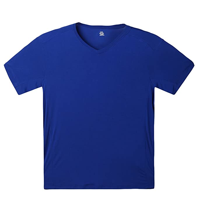 c7ca412a10d7 Amazon.com: Mens Modal Undershirts Big and Tall V-Neck T-Shirt: Clothing