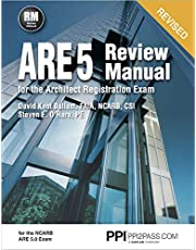 PPI ARE 5 Review Manual for the Architect Registration Exam (Revised, Paperback) – Comprehensive Review Manual for the NCARB 5.0 Exam