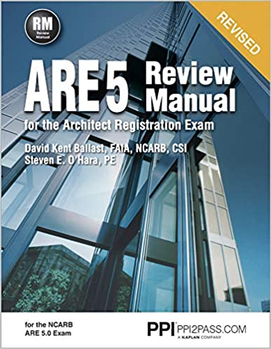 Amazon.com: ARE 5 Review Manual for the Architect ...