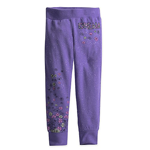 Disney Princess Sparkle Sweatpants for Girls Size 2 Purple