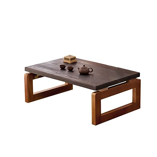 Mesa Mesa pequeña Creativa, Mesa de té de Madera Maciza Estilo ...