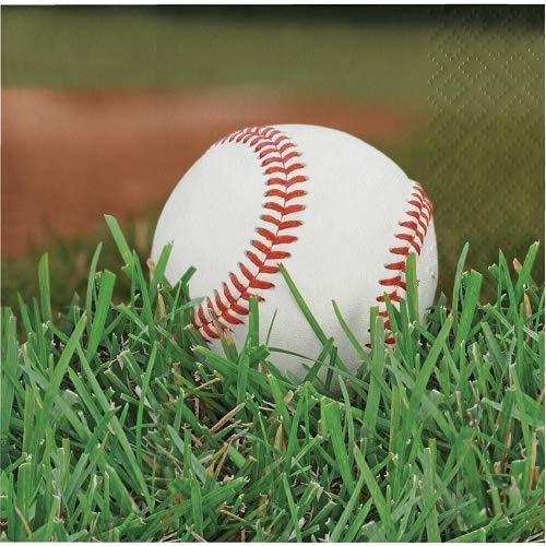 Sports Fanatic Baseball Bundle Lunch Napkins (54) -