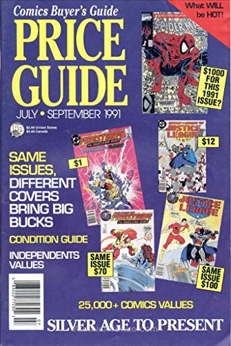 Comics Buyer's Guide Price Guide #7 FN ; Krause comic book