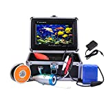 Lixada 7'' TFT LCD Monitor 800TVL Portable Night Vision Fish Finder Underwater Fishing Camera 30M Cable