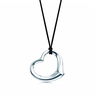 Amazon no1 silver elsa peretti open heart pendant in sterling no1 silver elsa peretti open heart pendant in sterling silver aloadofball Gallery