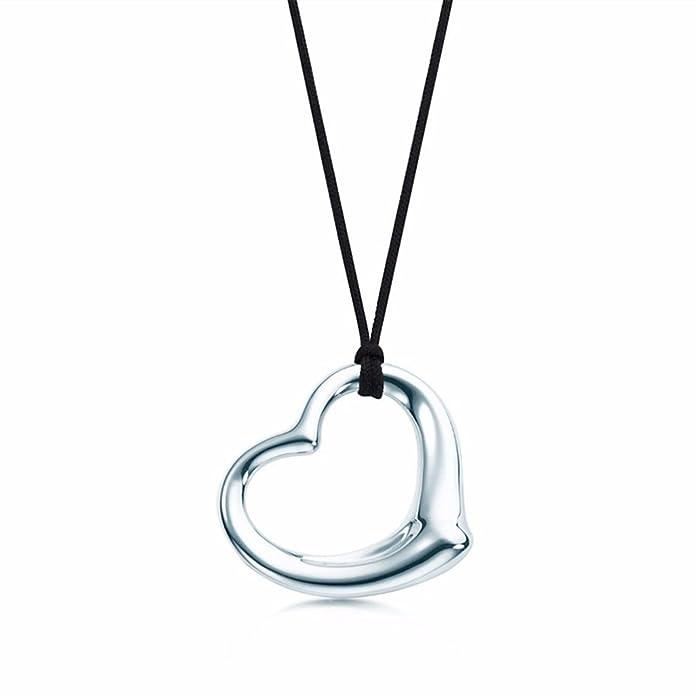 Amazon no1 silver elsa peretti open heart pendant in sterling amazon no1 silver elsa peretti open heart pendant in sterling silver jewelry aloadofball Gallery