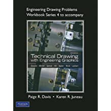 Engineering Drawing Problems Workbook (Series 4) for Technical Drawing with Engineering Graphics