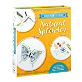 Embroidery Designs: Natural Splendor: Everything You Need to Stitch 12 Natural Designs